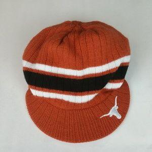 cc2722a170883 Texas Longhorns Licensed Knit Brim Beanie EUC